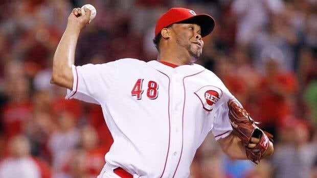 Veteran reliever Francisco Cordero, seen with the Cincinnati Reds last season, signed a one-year deal with the Toronto Blue Jays on Wednesday.
