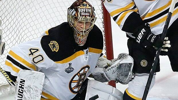 Tuukka Rask starred for Boston this past season, helping the Bruins win the Eastern Conference title.