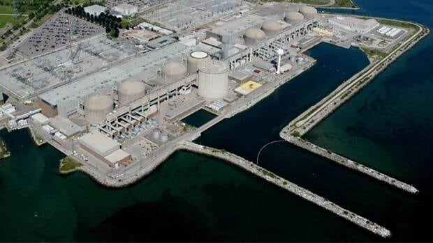 The Pickering generating plant in Pickering, Ont. is one of seven nuclear power plants in Canada.