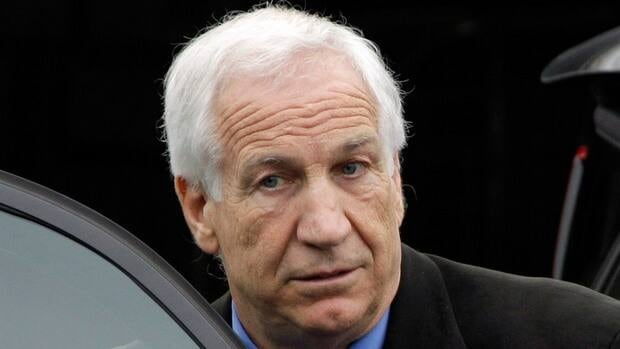 Former Penn State University assistant football coach Jerry Sandusky was convicted in June of 45 criminal counts for sexual abuse of boys.