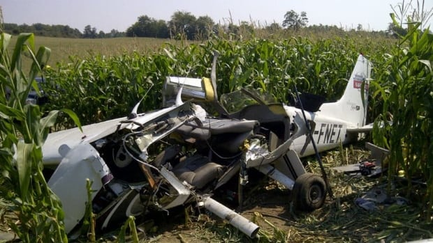 This single engine Cessna 172 crashed around 8:30 p.m. ET Friday, killing four people.