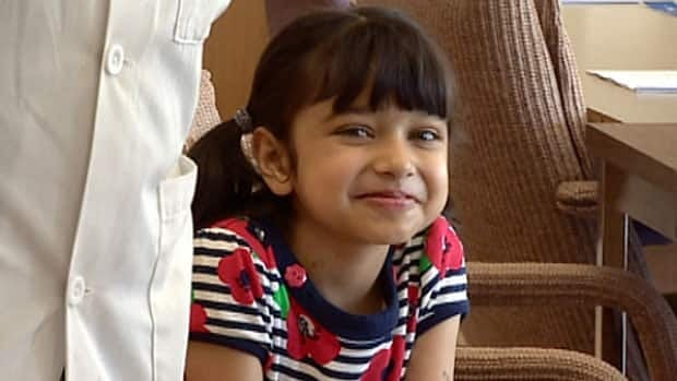 Muskaan Grewal, 6, is the youngest person in the world to receive an implanted heart pump. She has since had a heart transplant.