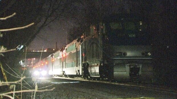 Police were on the scene of an incident involving a passenger train and two people near Rosemère, northwest of Montreal.