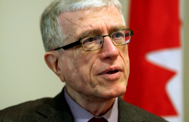 Ian McPhail, chairman of the Civilian Review and Complaints Commission for the RCMP