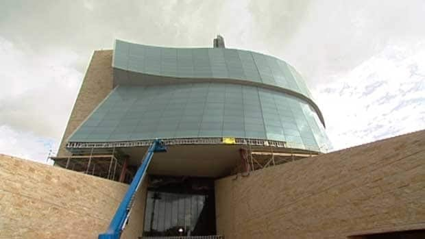 Archeological teams unearthed about 400,000 artifacts from the construction site for the Canadian Museum for Human Rights between 2008 and 2012. The downtown Winnipeg museum is slated to open next year.