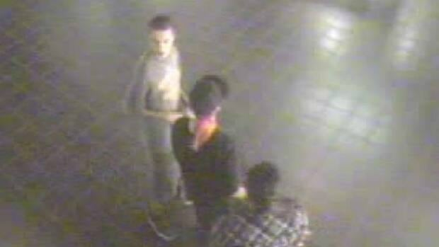 Saskatoon police have released an image from security camera video showing three suspects, two males and one female, who police are looking for in connection with an incident at Galaxy Cinemas on Tuesday.