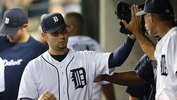 Starting pitcher Anibal Sanchez, who joined the Tigers midway through the season after a trade from the Miami Marlins, went 4-6 with a 3.74 ERA in 12 games with Detroit.