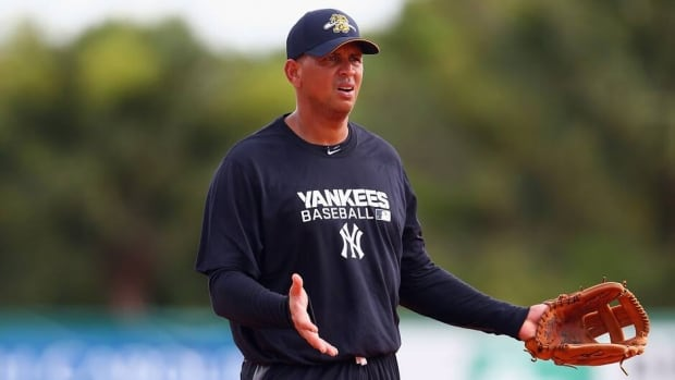 Alex Rodriguez of the New York Yankess before a game with the Charleston RiverDogs on July 2, 2013 in Charleston, South Carolina.