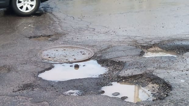 Three crews have been deployed to repair potholes, according to the City of Winnipeg.