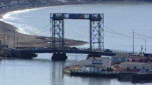Weight restrictions were put in place on Placentia's lift bridge in late February, prohibiting large trucks from crossing it.