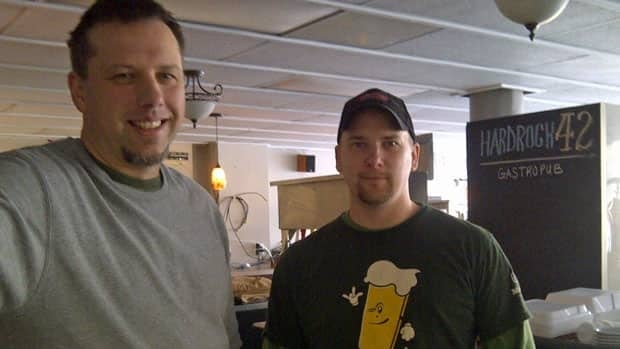 Dave Temmerman and Jason Heaton co-own Hardrock 42 Gastropub in Sudbury. They opened last year and are confident enough in the year ahead to invest in a renovation.
