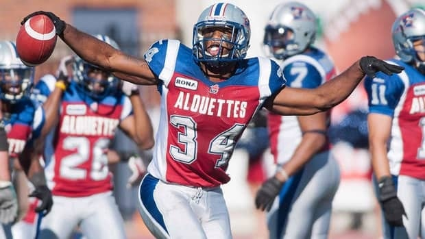 Montreal Alouettes safety Kyries Hebert had 48 defensive tackles and led the CFL in special teams tackles with 28 this season.