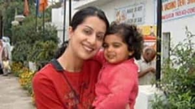 Manjit Panghali and her daughter Maya pose in an undated photo.