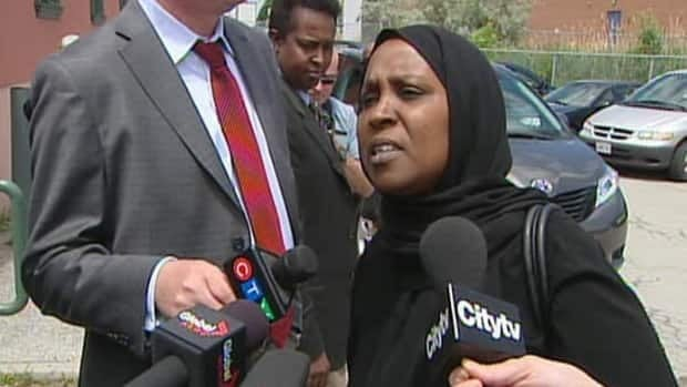 The late Ahmed Hassan's cousin, Khadija Abdi, says the media and police have painted a picture that implies Hassan deserved to die.