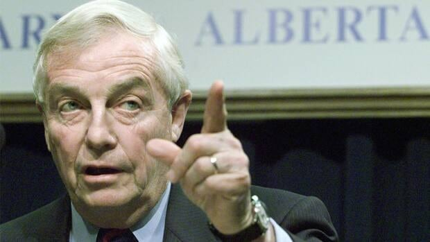 Peter Lougheed, former premier of Alberta, has been in and out of hospital over the past few months.