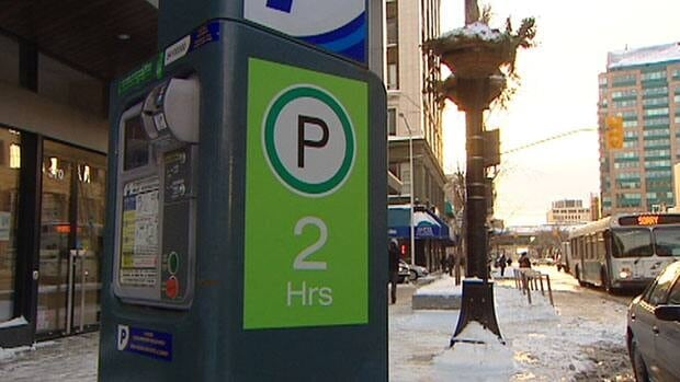 The rates at parking meters in downtown Winnipeg and the city's Exchange District have doubled.
