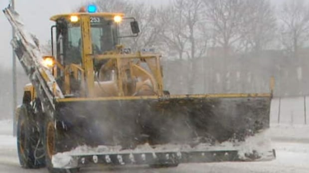 A man charged with uttering threats was unhappy with snowclearing on his street, police say.