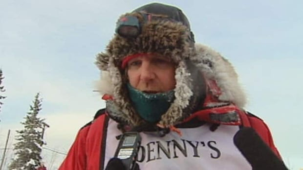 Normand Casavant of Whitehorse was the first Canadian musher to cross the finish line last year in Fairbanks, in seventh place. He will be first out of the chute in this year's Yukon Quest, having drawn bib number 1. (CBC)