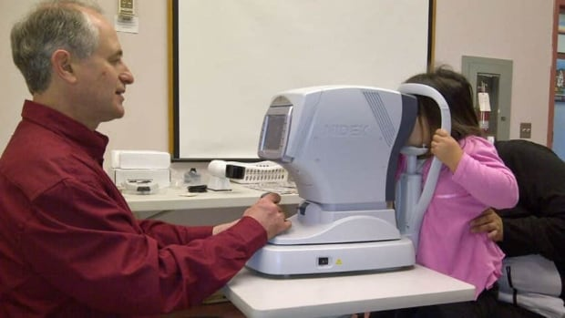 The Alberta Association of Optometrists recommends children get an eye exam every year.