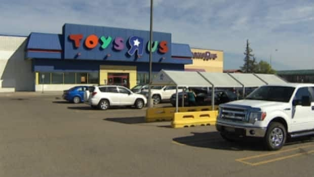 Police say a five-year-old boy was left in a vehicle outside this southside Toys R Us on Aug. 15. His mother had allegedly been inside the store for 30 minutes, while her son climbed to the front seat and revved the engine.