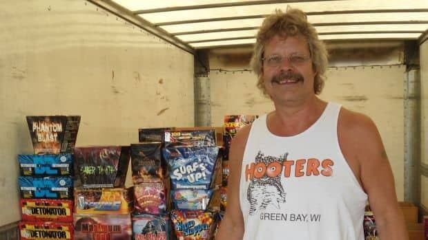 Bob Hoffman says he has a lot of repeat customers for fireworks, but that doesn't stop him from ensuring his customers know what the city's bylaws are for fireworks.