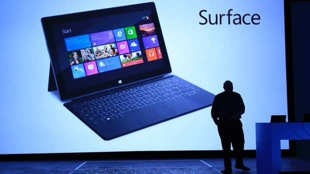 Microsoft's first tablet, called Surface, is expected to launch on Oct. 26 and aims to compete with Apple's iPad and Research in Motion's BlackBerry PlayBook.
