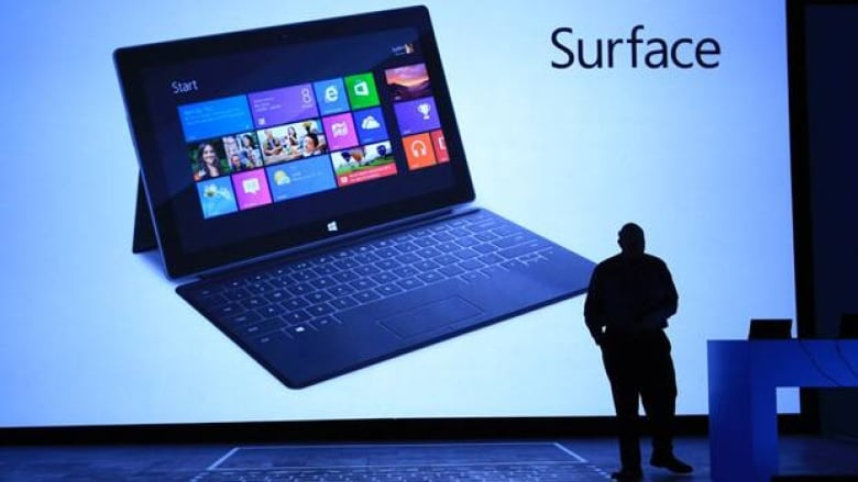 microsoft unveils price for its tablet surface cbc news