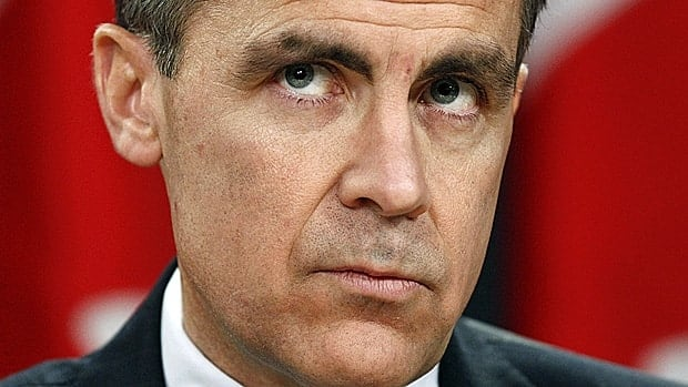 Bank of Canada Governor Mark Carney says Canadians should make sure they can afford debt when interest rates 'are at a more normal level.'
