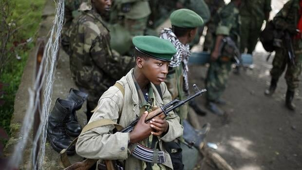 M23 rebels withdraw Saturday from the eastern Congo town of Goma. Sy Koumbo, a spokesman for the UN in Congo, says that an agreement was reached late Friday with M23 rebels after they attempted to force their way into Goma's international airport to seize arms.