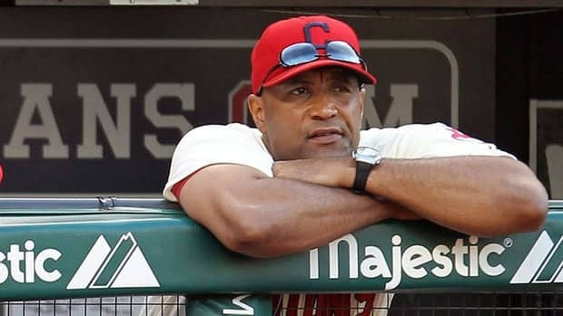 Indians bench coach Sandy Alomar, Jr. was a finalist for the Blue Jays' managerial job two years ago when John Farrell was hired.