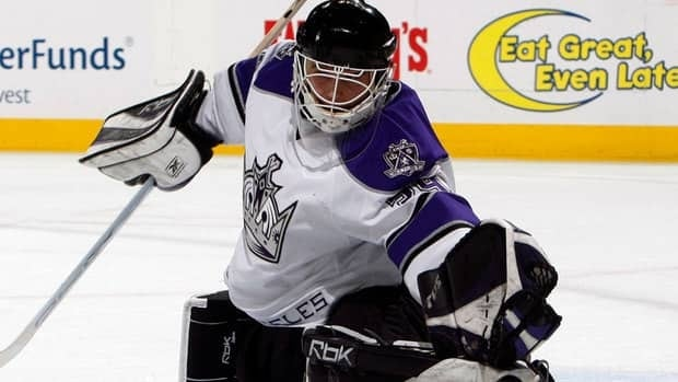 Dan Cloutier spent 10 seasons in the NHL with the New York Rangers, Tampa Bay, Vancouver and Los Angeles.
