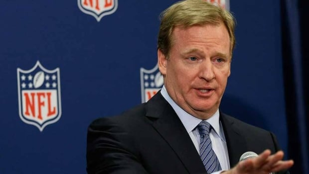 Roger Goodell is commissioner of the National Football League.