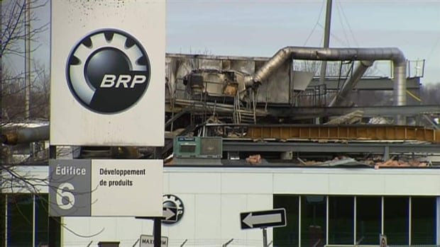 This BRP research lab is closed after a Nov. 9 explosion that killed laboratory worker Sébastien Tardif, 38.