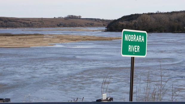 A 2010 photo shows the Niobrara River in Nebraskas Sandhills region. A new proposed route for the Keystone XL pipeline will avoid the disputed groundwater-rich region.