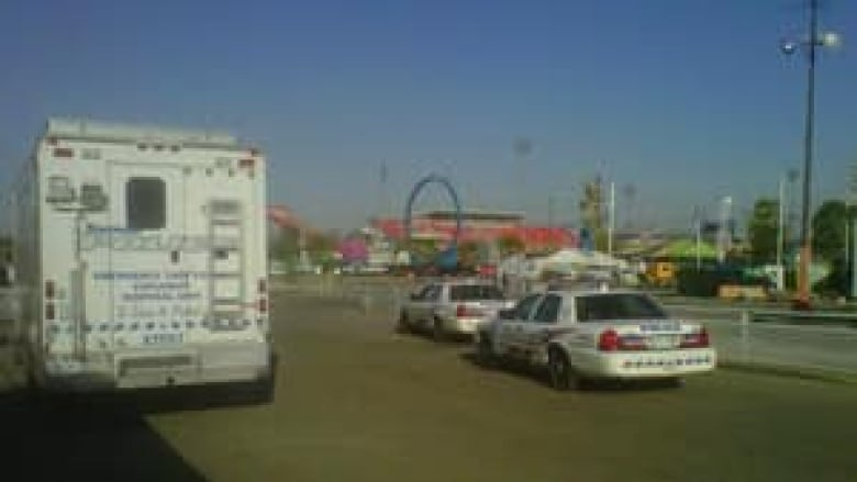 Food truck destroyed in CNE propane explosion   CBC News