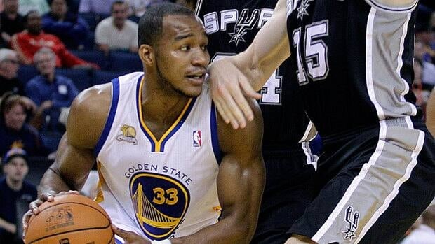 Chris Wright appeared in 24 games with Golden State last season, averaging 2.9 points.