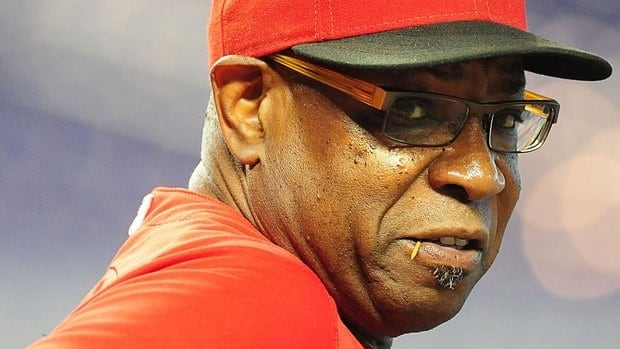 Dusty Baker of the Reds managed his 3,000th career game Tuesday night against Chicago.