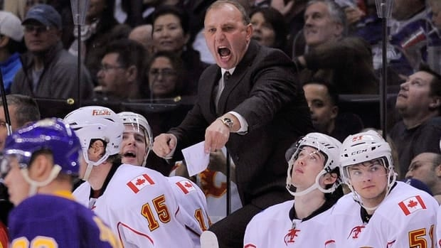 Brent Sutter coached three seasons with the Calgary Flames.