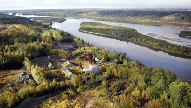 Alberta's first oilsands operation, Bitumont, on the shore of Athabasca River near Fort McMurray, Alta. A new study suggests oilsands development has not increased mercury levels in fish in the river in any consistent way over time, but the study's authors admit the data they used to reach that conclusion was limited.