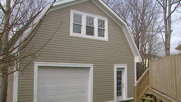 This two-level shed would be harder to construct under new rules approved by the City of St. John's.