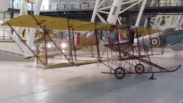 The 'Red Devil' was the first plane to take flight on P.E.I. in 1912 and is the same model as this plane in the Smithsonian Museum's collection.