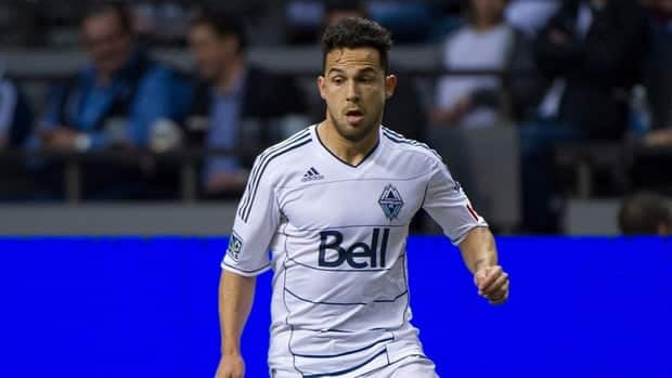 Davide Chiumiento had five assists in 16 league appearances with the Vancouver Whitecaps this season.