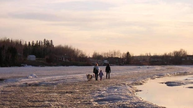 The Shoal Lake community was cut off from the mainland, creating an artificial island that has remained that way for a century. Now, they want an all-weather road out of the community.