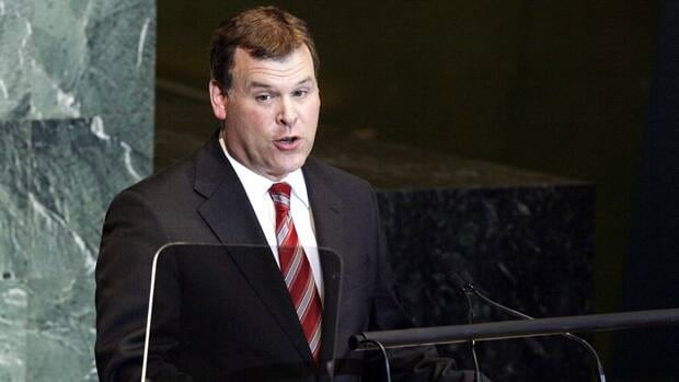 Foreign Affairs Minister John Baird addresses the United Nations General Assembly on Sept. 26, 2011.