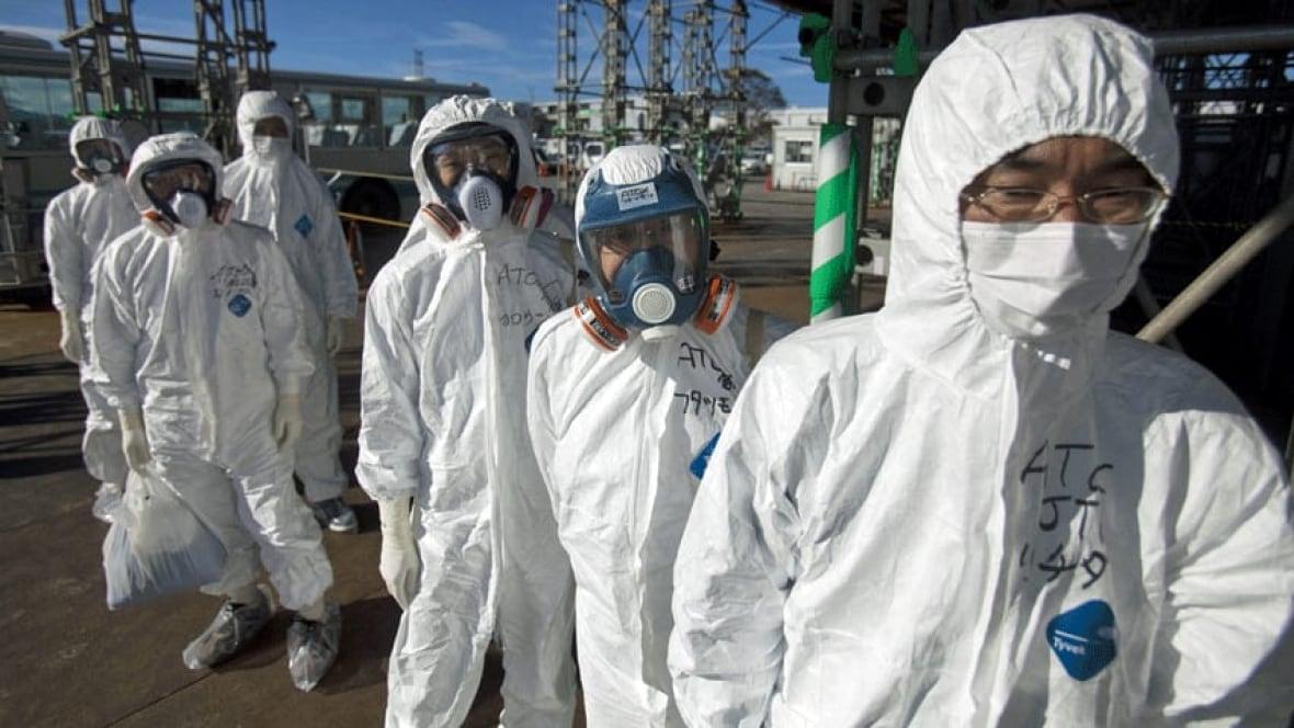 Image result for fukushima radioactive refuse in bc