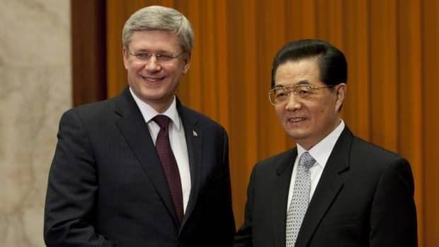 Prime Minister Stephen Harper has been courting the powerhouse economies of Asia, including a trip to China in February when he met with President Hu Jintao.