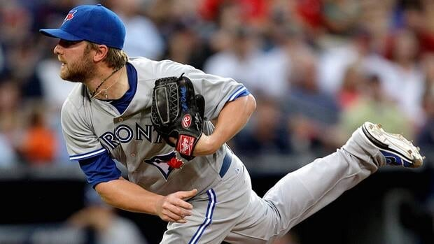 Toronto Blue Jays starting pitcher Kyle Drabek was 4-7 with a 4.67 ERA in 13 starts this season.