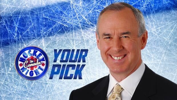 Join Ron MacLean on Saturday nights on CBC TV and CBCSports.ca as he unveils your selection for 'Hockey Night In Canada: Your Pick.'