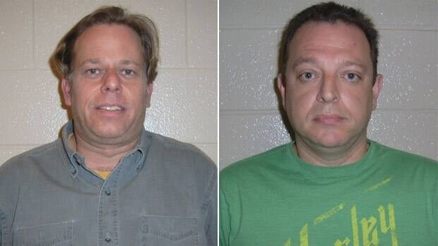 Toronto police have released photos of Scott Eisemann (left) and Anthony Taylor (right), who have been charged with fraud. Investigators believe there may be other victims.