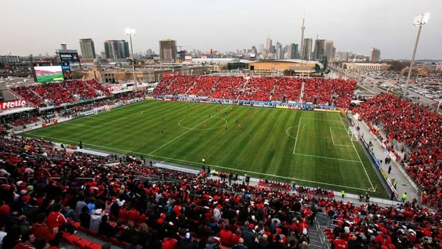 Toronto FC president Kevin Payne hopes to have a roof installed at BMO Field at some point in the future in order to create a more dramatic soccer presence.